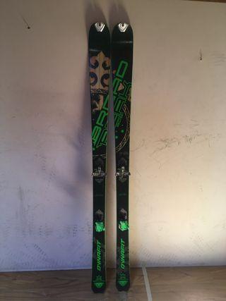 Esquís travesía dynafit broad peak