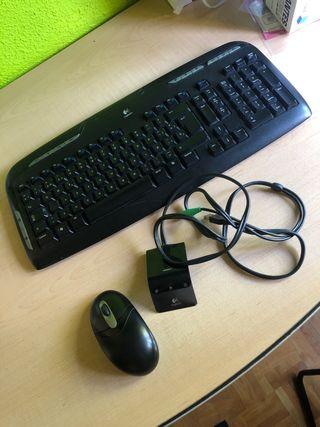 Teclado inalámbrico y ratón LOGITECH