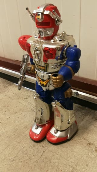 robot juguete vintage antiguo