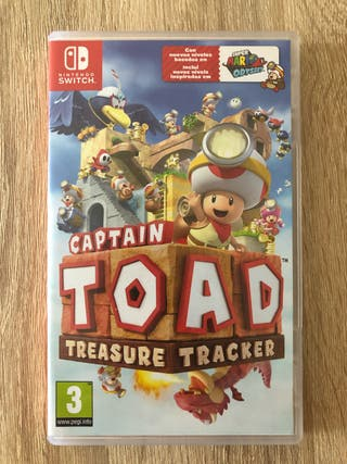 Capitán Toad Nintendo Switch