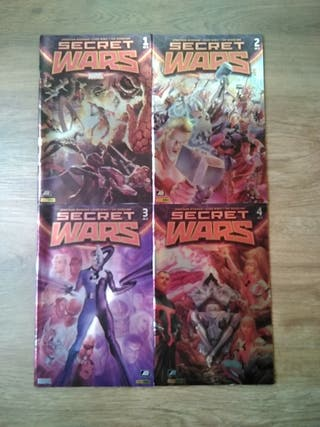Secret Wars - Thanos - N: 1,2,3,4