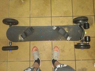 patín eléctrico longboard
