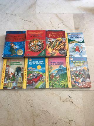 Libros colección Geronimo Stilton