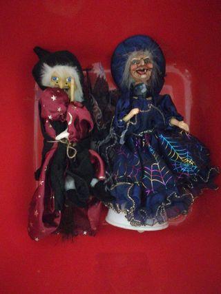 brujas de decoración con luz y sonido
