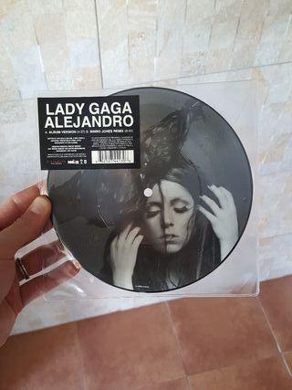 Lady Gaga single Alejandro single vinilo