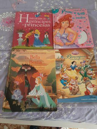 5 libros princesas