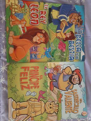 2 libros infantiles