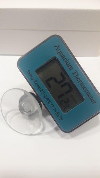 termómetro de temperatura de Acuario digital