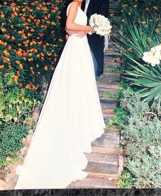 Vestido de novia Carlos Román