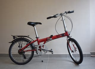 Bicicleta plegable Dahon Speed.