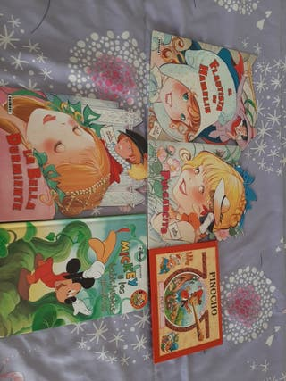 lote 5 libros infantiles