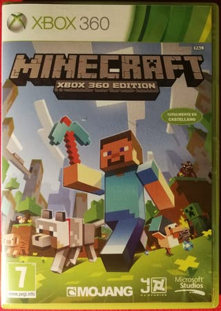 Minecraft juego para Xbox 360
