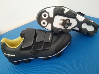 ZAPATILLAS CICLISMO SPINNING BTWIN