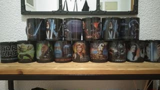Colección tazas Star Wars
