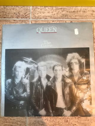 """Queen - The game (12"""" single)"""