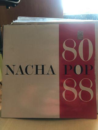 Nacha Pop - 80-88 (2xLP, Album)