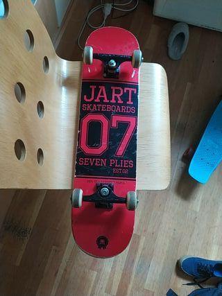 skate completo marca Jart skateboards barato