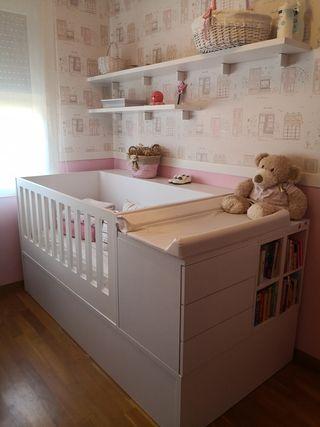 Habitación bebé / infantil convertible para niños