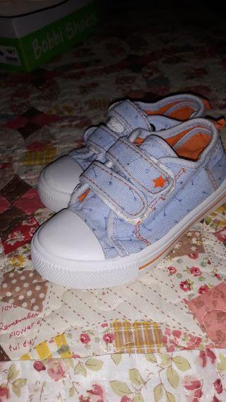 Zapatillas lona