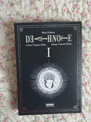 manga death note 1 black edition