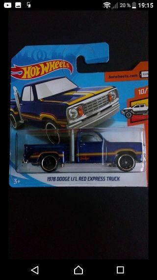 1978 Dodge Li'L Red Express blue Hot wheels