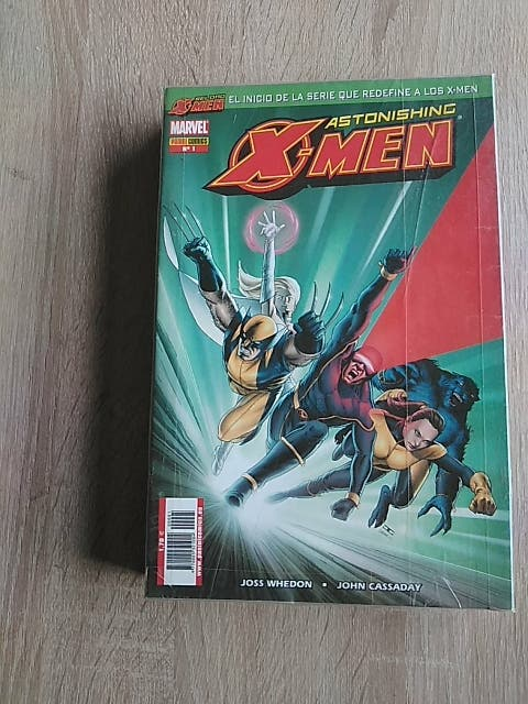 X-MEN ASTONISHING.VOL.1