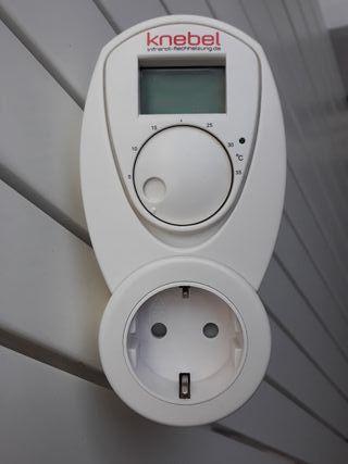 Enchufe temporizador digital de temperatura