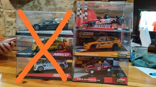 Coches Scalextric y Ninco