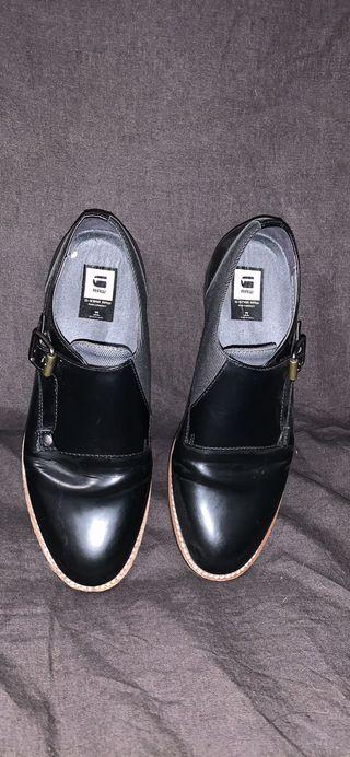 Zapatos de piel g-star raw
