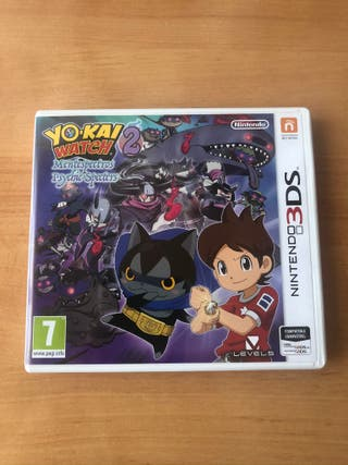 Yokai Watch 2 Mentespectros Nintendo 3DS