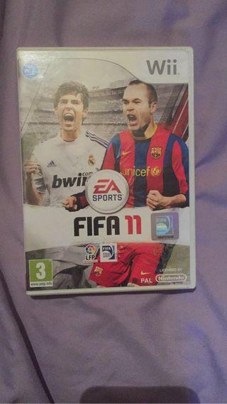 FIFA 11 y fifa 12 de la Wii