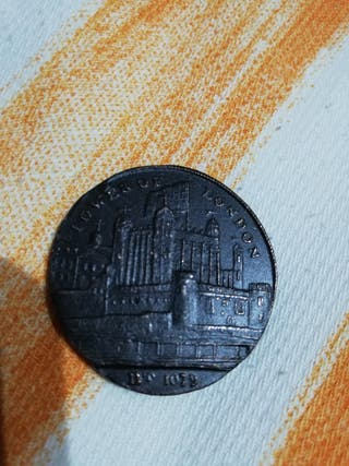 Moneda conmemorativa Tower of London