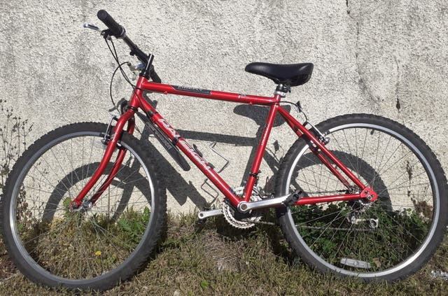 middel size bicycle