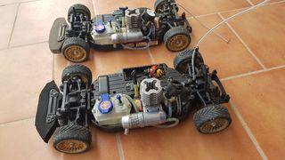 2 coches radio control