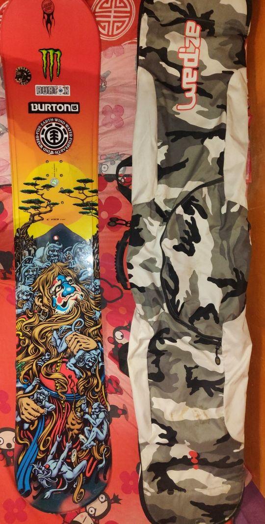 Tabla snowboard Santa Cruz + funda