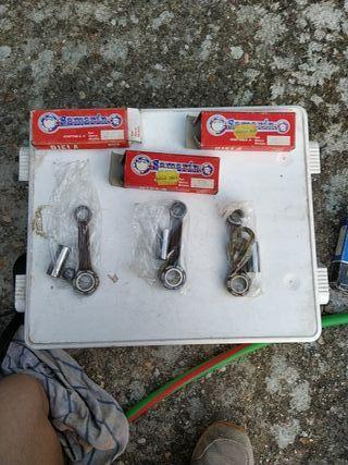 3 bielas de honda MBX - NSR 75cc. precio negociabl