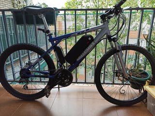 bicicleta eléctrica GT MTB