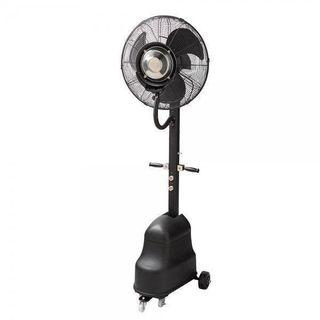 Ventilador industrial con nebulizador
