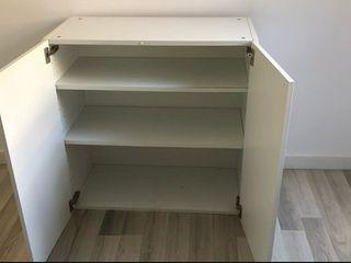 Mueble almacenaje blanco colgar en pared