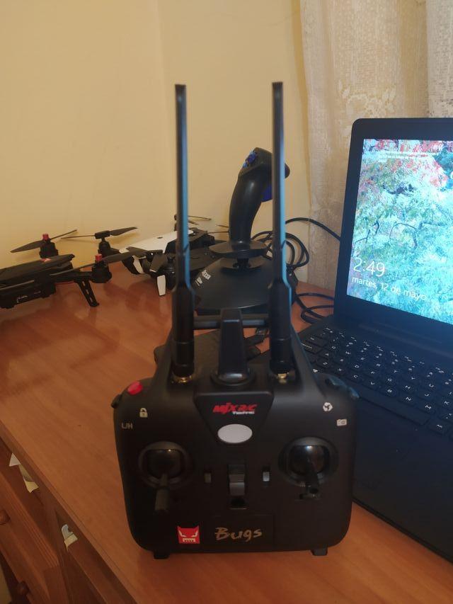 drone bugs 6 carreras