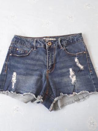 shorts tejanos de lefties
