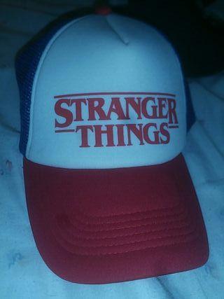 gorra de stranger things
