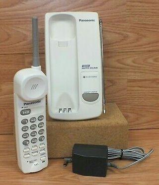 Telefono inalambrico Panasonic10CH autoscan blanco