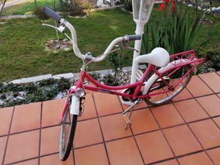 Bici de paseo BH BOLERO ROSA años 80