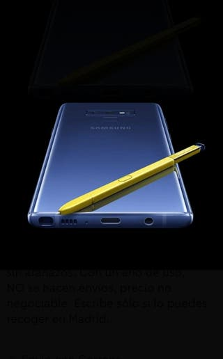 Note 9 N960F duo 512gb