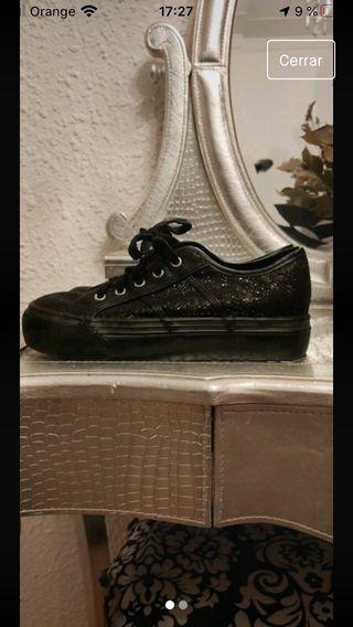 Zapatillas con plataforma talla 38