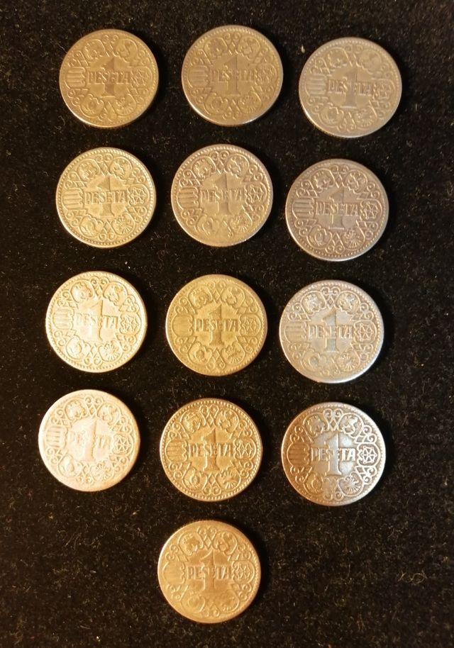arras de boda monedas pesetas 1944