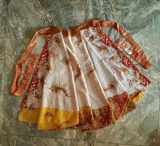 Falda India Reversible