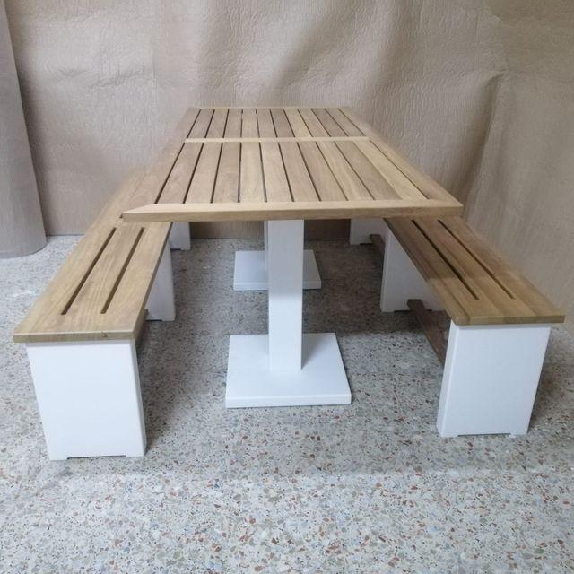Mesa y muble-bar para jardin!