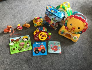 Toys and books 9m-2 years olds